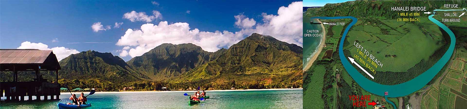 Kayak the Hanalei Bay