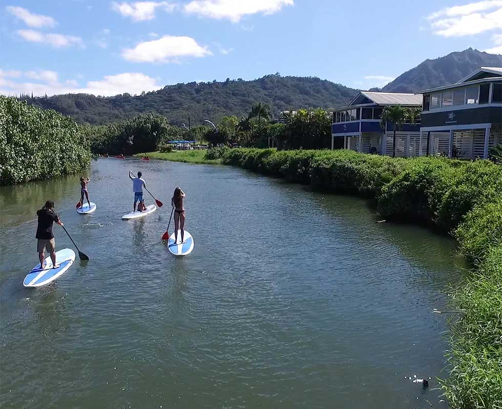 Self-guided SUP Rental Wildlife Refuge Route